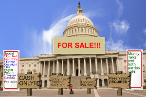 Congress sells bills to lobbyists